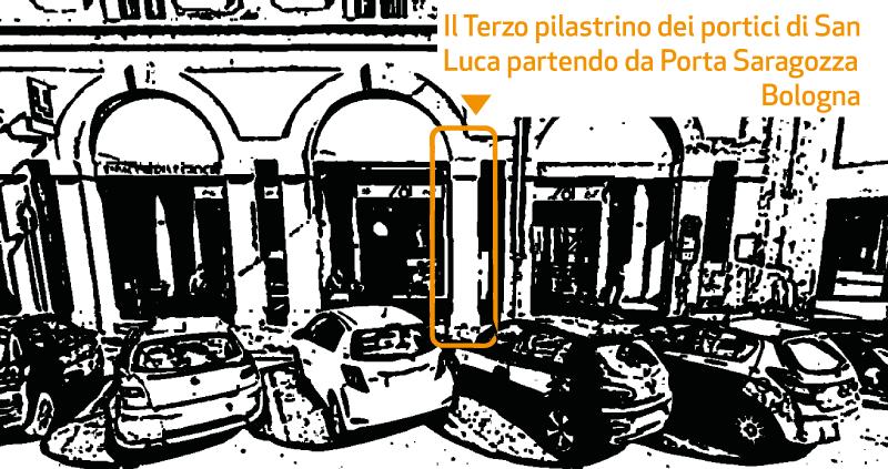 pilastro in muratura a bologna