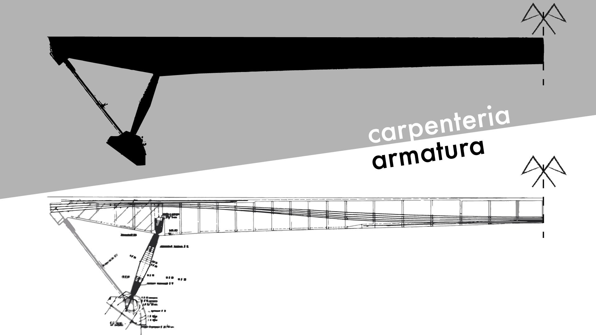 Ponte di Riccardo Morandi dettagli