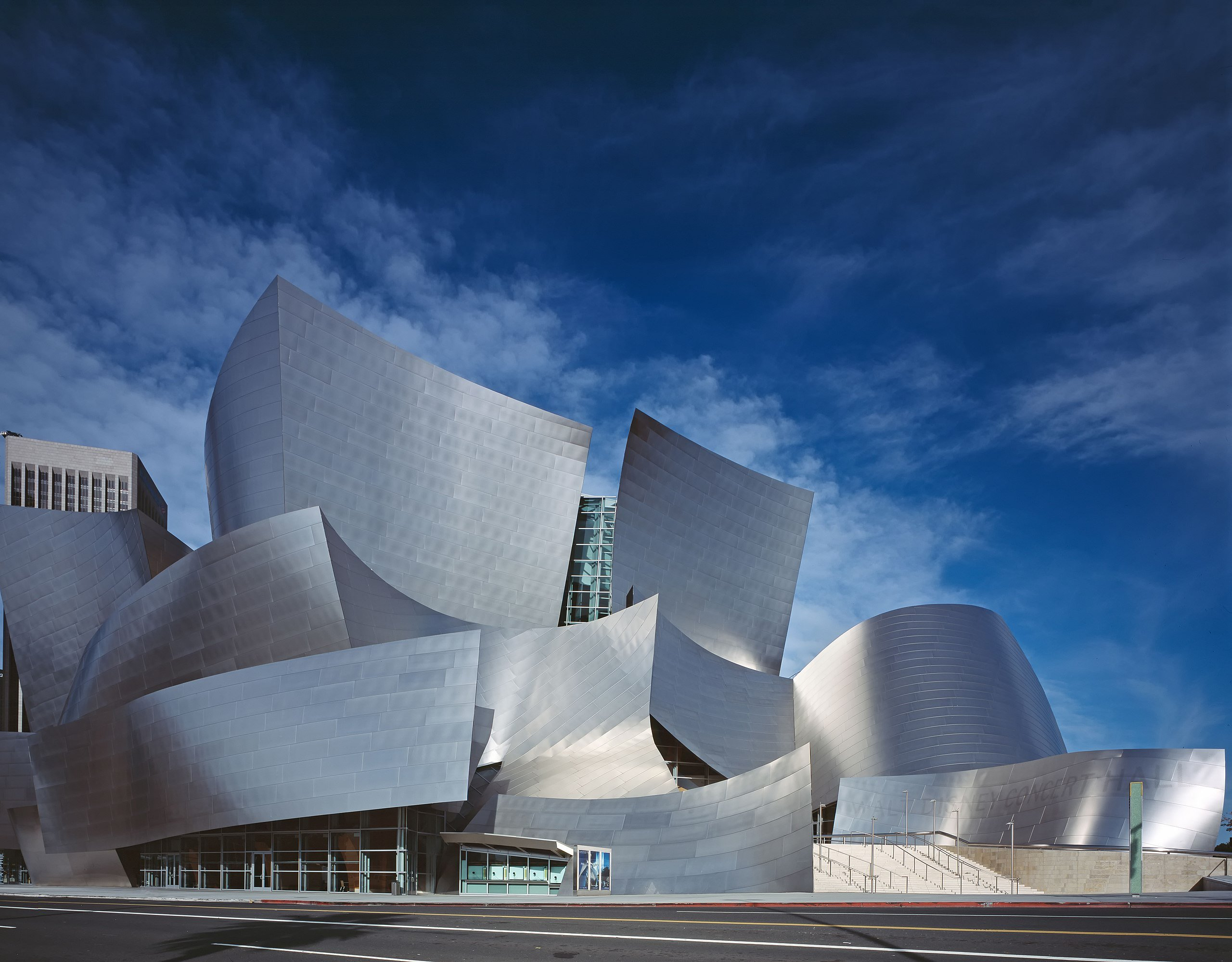 Disney concert hall di Gehry